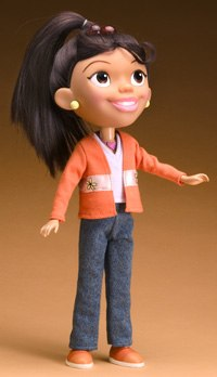 Studios are more leery of licensing deals with the changes going on the toy business. Maya & Miguel toy image courtesy of Scholastic Ent.
