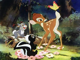 Bambi allows viewers to fully appreciate the innovative work of The Nine Old Men and Tyrus Wong. This team pretty much invented the feature animation process while making this movie, asserts Bossert.