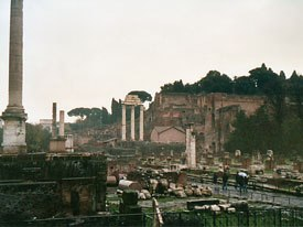 Not so far away are the ruins of ancient Rome. A great day expedition from the festival! © Heather Kenyon.