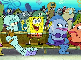 SpongeBob has long been a favorite of the gay community and has high visibility and tremendous marketing power. © 2004 Paramount Pictures and Viacom International Inc. All rights reserved.