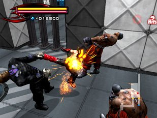 The game does suffer from repetition of the death animation. The characters play an arched back animation every time when defeated, making the loss all the more painful when this same sequence is used over and over again.