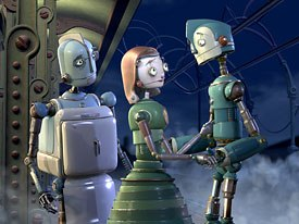 After seven years in the making, Blue Sky Studios unveils Robots, a dazzling world complete with metallic and mechanical form and function. All images  and © 2005 Twentieth Century Fox. All rights reserved.