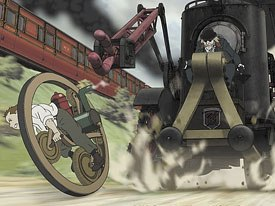 Katsuhiro Otomo reinforces his reputation as one of the leading creative figures in Japanese animation with his latest cinematic epic, Steamboy. All Steamboy images © 2004 Bandai Visual Co. Ltd. All rights reserved.