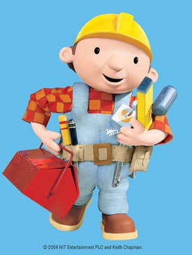 Bob the Builder will be featured in a special Bobs Big Plan, which describes the story behind his new TV series Project: Build It, to debut this September on PBS. © 2004 HIT Ent. Plc. and Keith Chapman.