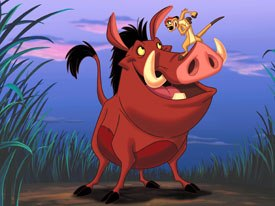 Inbetween-quels is a sub-category of the Disney DTV sequel in which gaps between movies are filled. In Lion King 1-1/2, for example, the story is told from Timon and Pumbaas point of view.