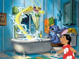 Stitch! picks up where the original Lilo & Stitch movie left off with details on Experiments 1 through 625.
