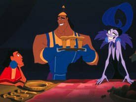 The upcoming Kronks New Groove continues the adventures of the breakout character from 2000s unashamedly cartoony Emperors New Groove. © Walt Disney Pictures. All rights reserved.
