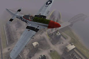 Military-produced simulations often lacked the stories that consumer games like Battlefield 1942 possess. © Electronic Arts.
