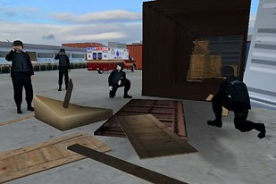 Forterra Systems has created simulations for U.S. Homeland Security. © Forterra Systems Inc.