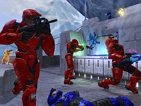 The Next Frontier: successful videogames like Halo 2 are the basis for a new crop of upcoming Hollywood movies. All Halo 2 images courtesy of Bungie Studios.