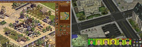 BreakAway develops history games like Emperor: Rise of the Middle Kingdom (left) and city environment games such as A Force More Powerful. © 2005 BreakAway Ltd. All rights reserved.