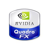 A group of partners and customers demonstrated NVIDIA Quadro FX 4000 SDI with PureVideo technology. Courtesy of NVIDIA.