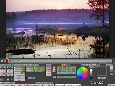 Quantel unveiled Eiger, the latest toolset release for its market-leading eQ (above) and iQ systems for post and DI. Courtesy of Quantel.