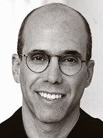 During a daylong appearance, DreamWorks Jeffrey Katzenberg didnt diss Eisner, denied that 2D was dead and picked his Desert Island flicks.