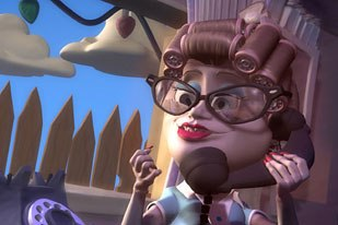 Aunt Luisa was Blurs first foray into the animated short world in 2002 and garnered a spot on the Oscar short list.