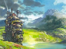 Howls Moving Castle is perhaps Miyazakis most phantasmagorical film filled with astonishing imagery and supernatural logic. But will Americans get it? All images © 2004 Nibariki. GNDDT. All rights reserved.