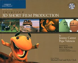 All images from Inspired 3D Short Film Production by Jeremy Cantor and Pepe Valencia, series edited by Kyle Clark and Michael Ford. Reprinted with permission.
