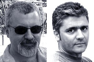 Authors Jeremy Cantor (left) and Pepe Valencia.