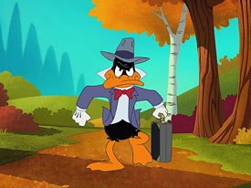 What makes a talking waterfowl like Daffy Duck seem so real? © Warner Bros. Home Ent.