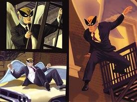 J.J. Sedelmaiers work like Harvey Birdman has an irreverent feel that fights New York well. © Cartoon Network.