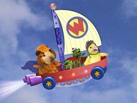Little Airplane flies high on preschool series, like Wonder Pets. © Nickelodeon.