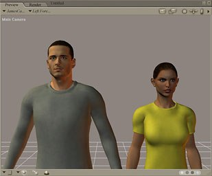 Two new human figures, James and Jessi, are highlighted in version 6.