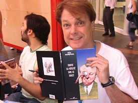 Bill Plympton at this years Annecy festival. Photo credit: Sarah Baisley.
