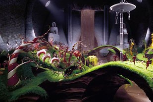 Achieving the stylized, surreal look Burton wanted was the biggest challenge for the digital artists.