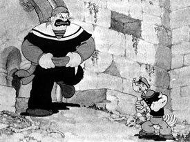 Robots look is inspired by Fleischer cartoons, especially Popeye, which is Renzettis favorite cartoon ever.