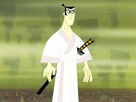 Renzetti served as director on Samurai Jack. Courtesy of Cartoon network.