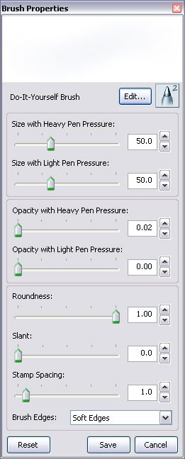 One of the upgrades in SketchBook Pro 2 is a robust create your own brush interface.