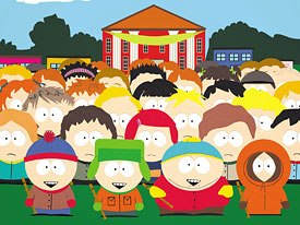 The group dynamic plays a big part in the stories of South Park. © Comedy Central.