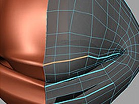 Poly Crease for Smooth Proxy is a new tool that allows modelers to control how much smoothing occurs between edges.