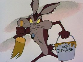 Acme, who supplies Coyote with his weapons, is much like the military-industrial complex that powered Americas post-nuclear wars.