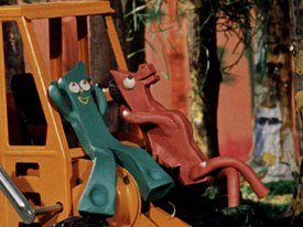 Gumby is a part of Americana. His kind of physical humor like Laurel and Hardy, is timeless and he connects with kids.