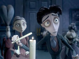 Corpse Bride carries on the tradition of stop-motion. One source of inspiration for Tim Burton has been Gumby. © 2005 Warner Bros. Ent. Inc.