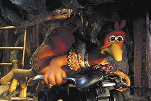 Chapman recalls that there was a long learning curve with DI on Aardman Animations Chicken Run in 2000. © DreamWorks Pictures.
