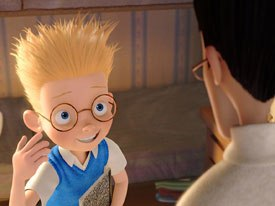 For the upcoming Meet the Robinsons, the majority of animators are from Chicken Little, but many came from outside with CG experience and others were retrained from 2D.