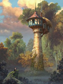 On Rapunzel, Keane is trying to bring drawing into CG by applying basic design principles.