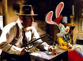 Two fans, Robert Zemeckis and Steven Spielberg, ask Clampett to serve as an advisor on Who Framed Roger Rabbit and the money pours in from licensing and merchandising. © Buena Vista Home Entertainment, Inc. All rights reserved.