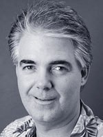 The Polar Express animation supervisor David Schaub.