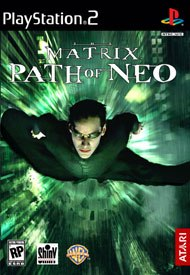 The Matrix: Path of Neo has film footage and input from the Wachowski brothers who directed the films  & © Warner Bros. Entertainment Inc. © 2005, Atari, Inc. All rights reserved.