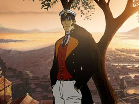 Corto Maltese could make some decent coin in limited theatrical release and on DVD if hyped right, plus its a recognizable franchise already. © Ellipse Programme/Imedia/ConG. All rights reserved and © 2002 Home Made Movies.