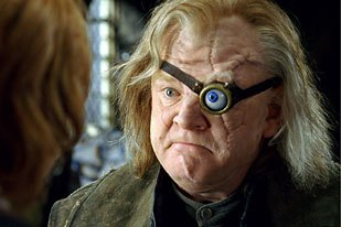 Double Negative built a CG eye and replaced the practical eye in more than 50 shots of professor Mad Eye Moody.