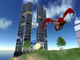 Second Life is not really a game, but a virtual world where almost anything can happen. © Linden Labs.