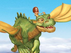 Jane and the Dragon is the result of teamwork between Weta and Nelvana. All Jane and the Dragon images © 2005-2006 WETA Productions Ltd. /NELVANA Ltd.