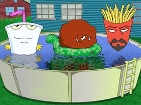 Aqua Teen Hunger Force featured plots that were simply vehicles for loopy animation and the peppy hip-hop score, but it seemed to be exactly what the coveted 18-34 year-old demographic wanted.