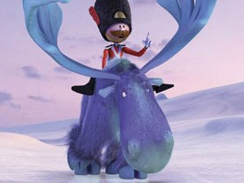 Director and actor Kevin Smith (Clerks) came aboard to voice a previously silent moose.