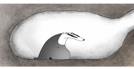 Sharon Colman directed and animated Badgered as a personal project at the U.K.'s National Film and Television School. All Badgered images © NFTS.
