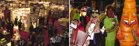 Although retail sales of toys fell last year, animators can take comfort in news from this years Toy Fair: The toy industry shows an increased need for original animation in promotion, toys and games. Courtesy of TIA.